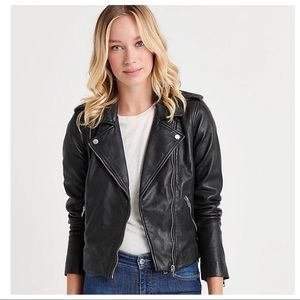 Lucky Brand | Faux Leather Moto Jacket